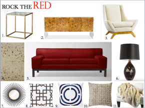 """Interiors :: The """"Red"""" Couch"""