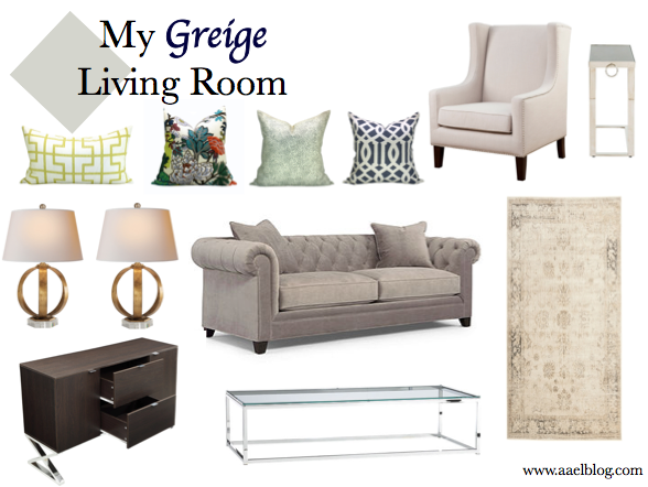 Greige Living Room interiors :: my greige living room | aael