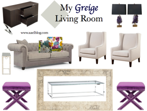 Interiors :: My Greige Living Room