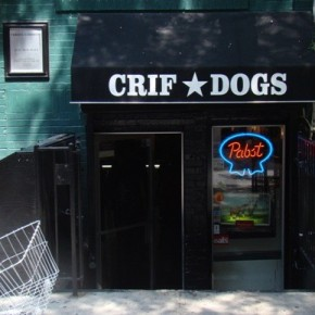 Crif Dog: NYC's New #1Wiener