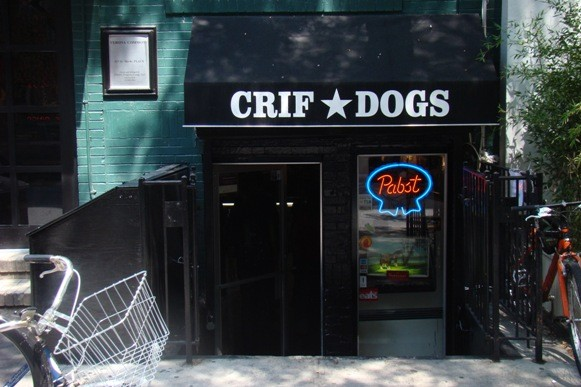 Crif Dog Store front