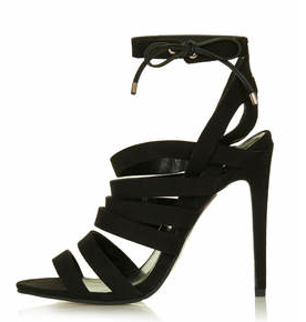 Fashion :: Perfect Black Strappy Shoe