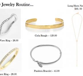 Fashion :: My JewelryRoutine