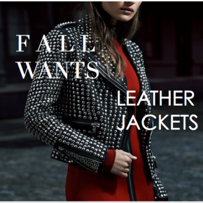 Fashion :: Fall Necessity – Leather Jackets