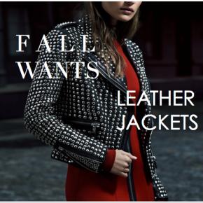 Fashion :: Fall Necessity – LeatherJackets