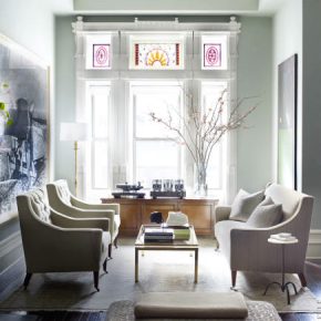 Interior Design :: The Perfect Brownstone