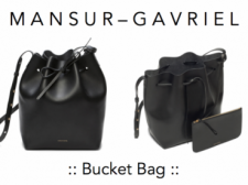 The Next Best Thing When The Mansur Gavriel Drawstring is Still Waitlisted