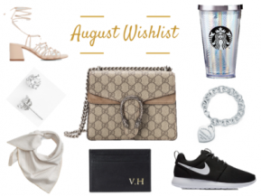August WishList