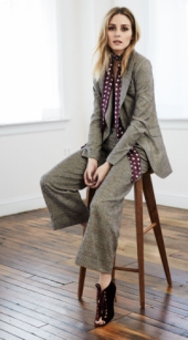 Just In Time For Fall, Street Style Maven Olivia Palermo NordstromCollection