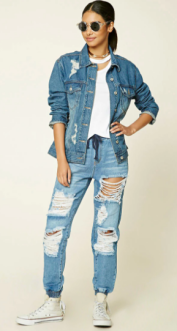 Super Distressed Denim